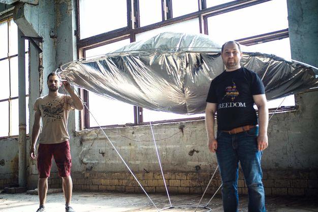 Краще за дрон. Український стартап Space Cossacs розробляє гібридну повітряну платформу