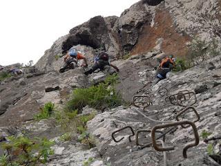 Vía ferrata la Guagua