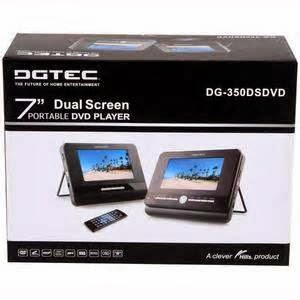 Portabel Dual Screen DVD Player