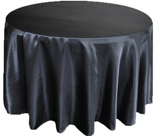 Black Table Cover €10.