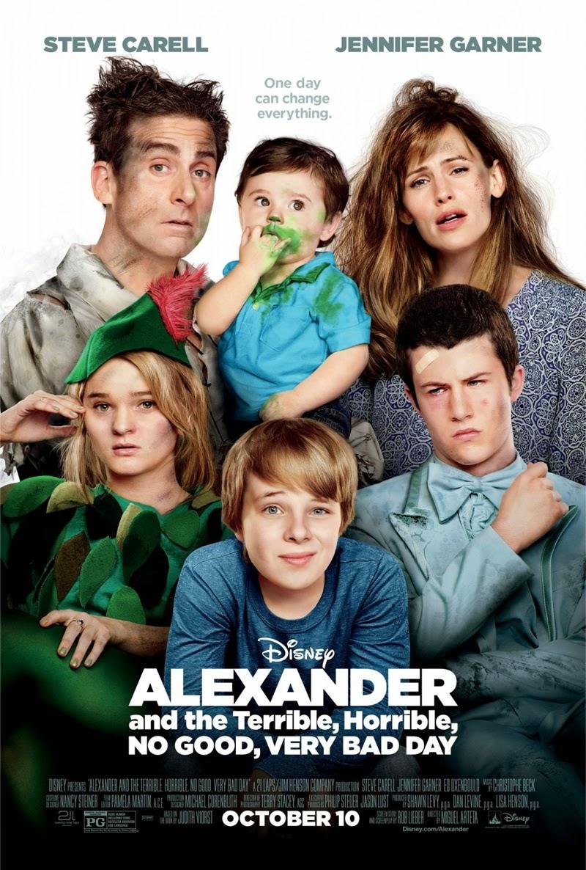 Alexander and the Terrible Horrible อเล็กซานเดอร์กับวันมหาซวยห่วยสุดๆ [HD][พากย์ไทย]