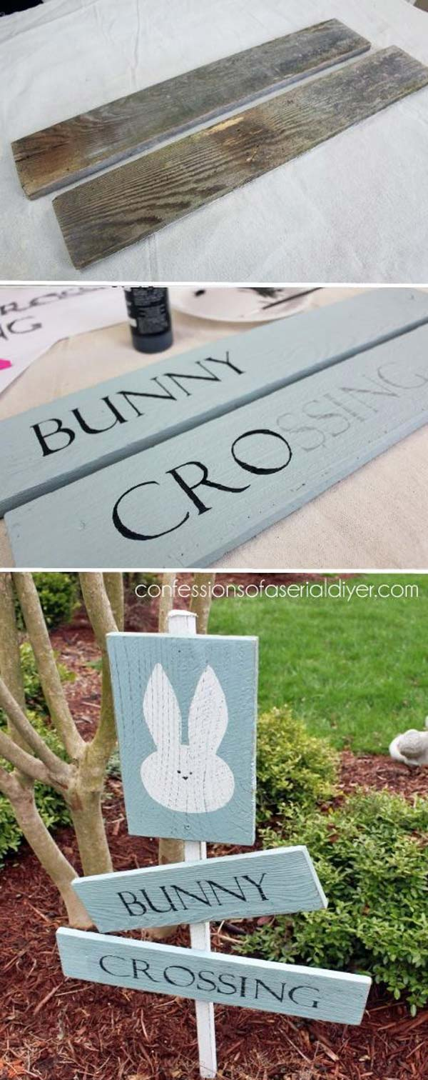 Do It Yourself Ideas And Projects 29 Cool Diy Outdoor Easter Decorating Ideas