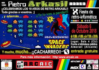 Retro Arkasil Party X 2018