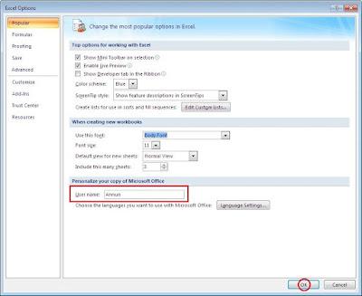 Sebelum mengetahui cara untuk merubah nama author Cara Merubah Nama Penulis atau Author pada Aplikasi Ms Office