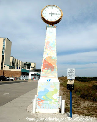 Wildwood Crest Town Clock in Wildwood Crest, New Jersey