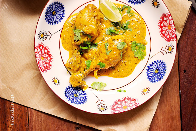 how to make Kasundi Murgi / Chicken in a Bengali Mustard based Gravy recipe and preparation