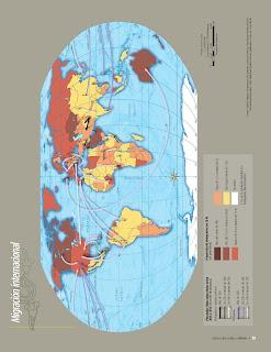 Apoyo Primaria Atlas de Geografía del Mundo 5to. Grado Capítulo 3 Lección 1 Migración Internacional