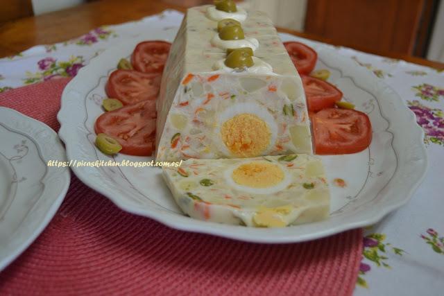 GALANTINA DE ENSALADILLA 58º Desafío en la cocina
