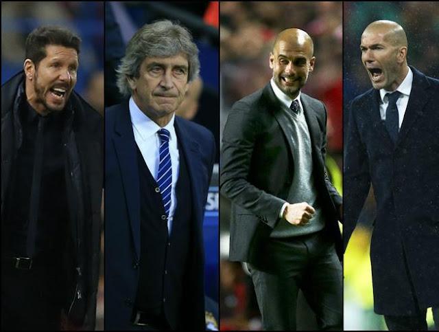 Lo que cobran los cuatro entrenadores semifinalistas de la Champions