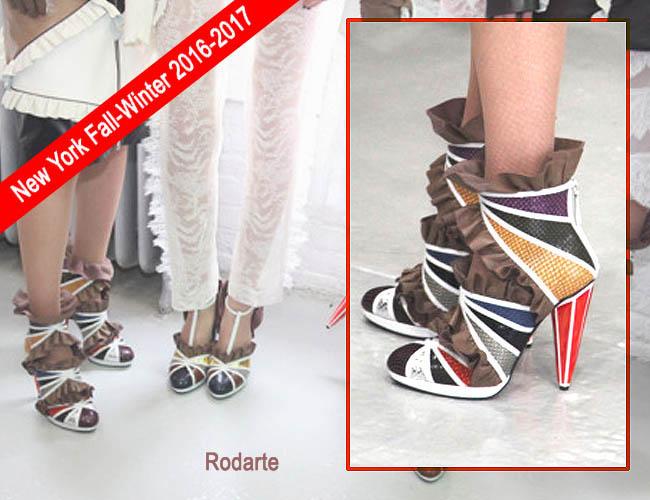 Model sepatu wanita terbaru 2016-2017 Rodarte