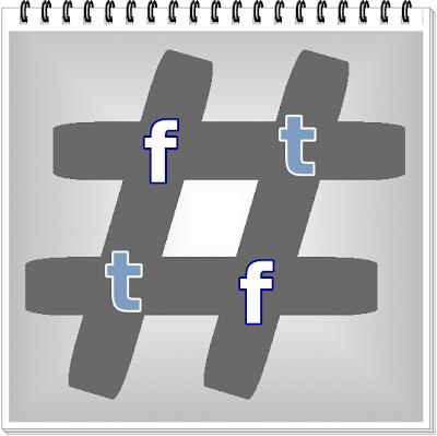 Hashtag Facebook Dan Twitter