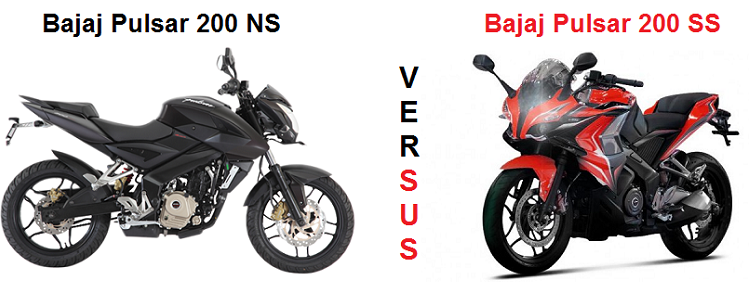 Pulsar 200 NS Vs Pulsar 200 SS - Comparison