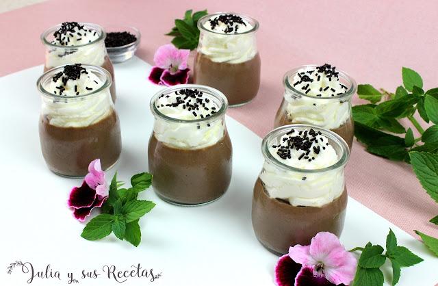 Dalkyis de chocolate y nata. Julia y sus recetas
