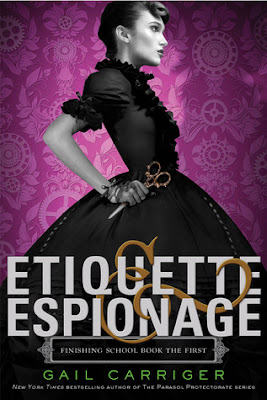Etiquette & Espionage Cover