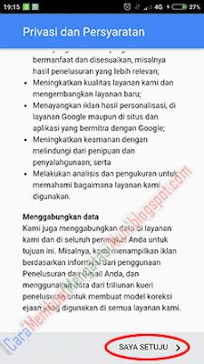 cara menambah akun gmail android