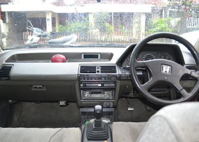 Interior Honda Accord Prestige