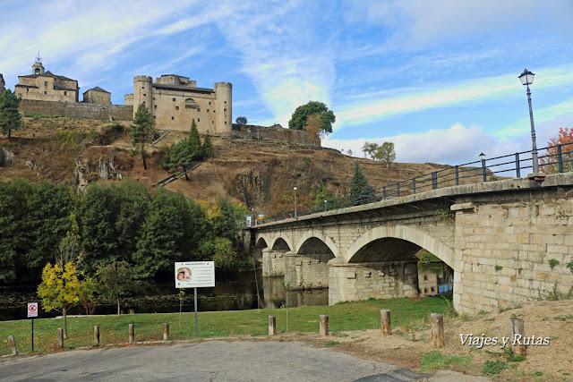 Puente sobre el río Tera, Puebla de Sanabria, Zamora