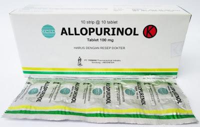 Harga Allopurinol Berno tab Terbaru 2017