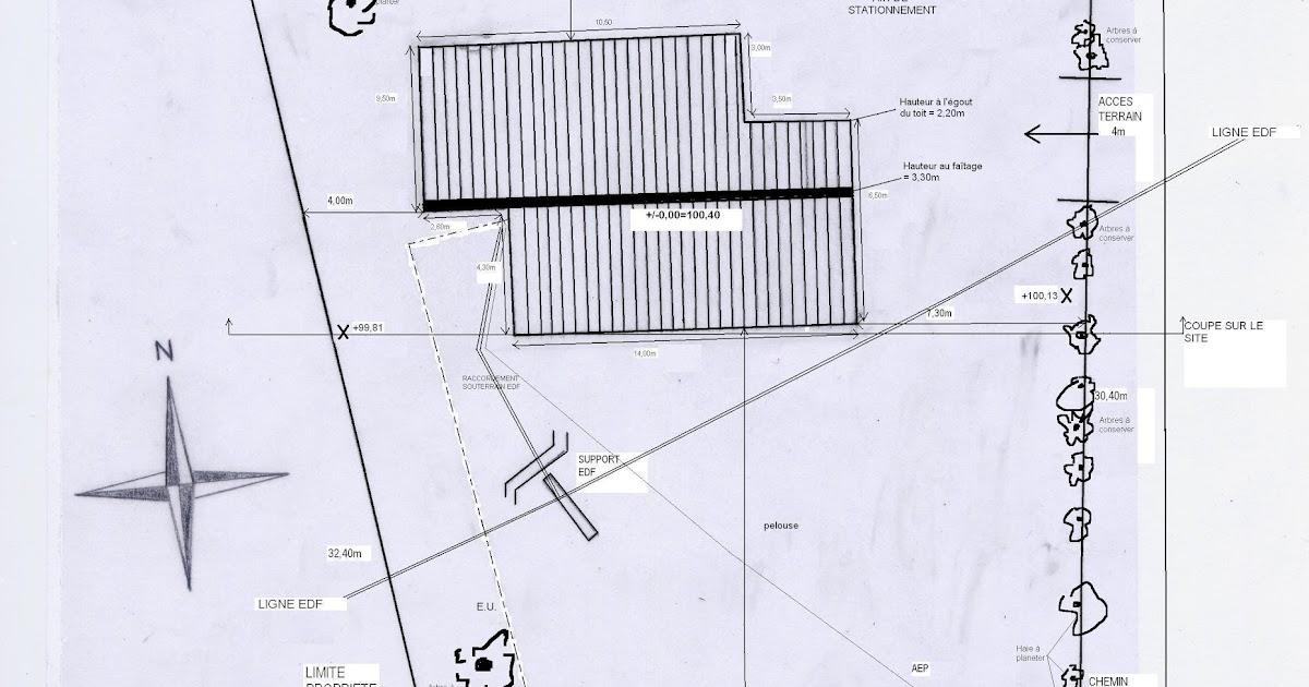 maison terre et paille les pi ces du dossier de permis de construire. Black Bedroom Furniture Sets. Home Design Ideas