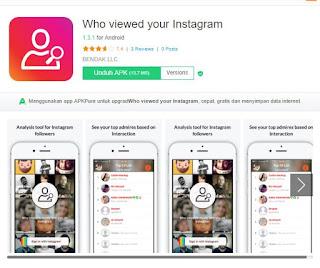 aplikasi Who Viewed Your Instagram untuk cek stalks