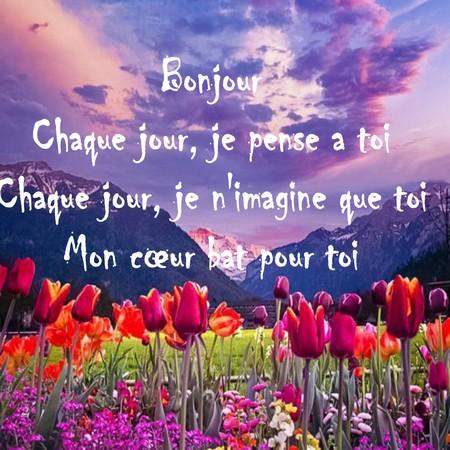 Texte Romantique Pour Dire Bonjour Poèmes Et Textes Damour