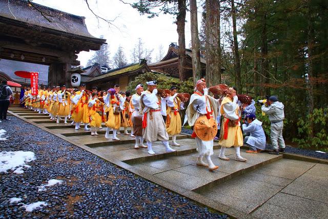 Kouya-no-Himatsuri (Fire Festival) at Koyasan Mountain, Wakayama