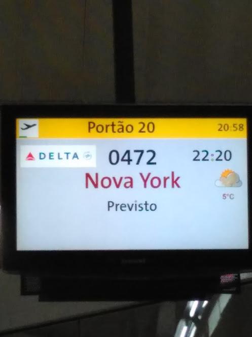 aeroporto Nova York