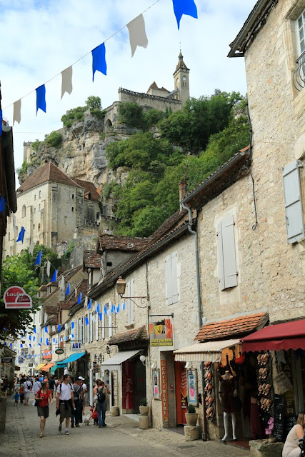 Rocamadour. France. Рокамадур. Франция.