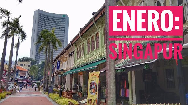 Ciudad del mes enero en Singapur