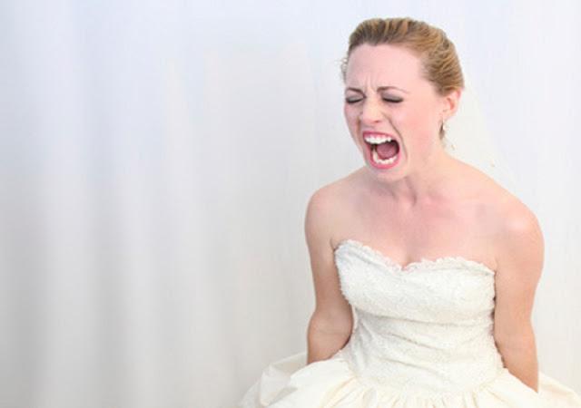 Estresse antes do casamento