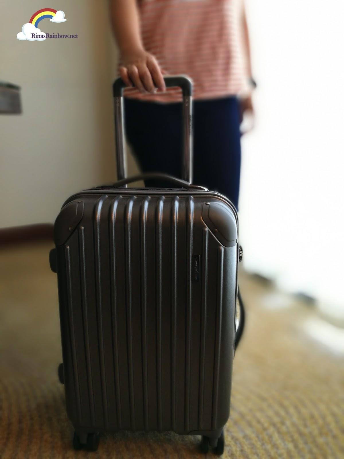 Rina's Rainbow: Free World Traveller Luggage for Cebu Pacific ...