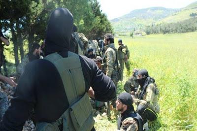 mujahidin di latakia
