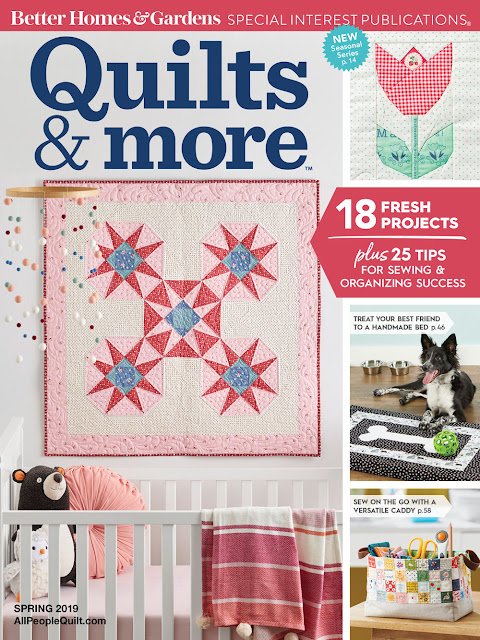 Stash & Carry Basket by Heidi Staples of Fabric Mutt for Quilts & More Magazine