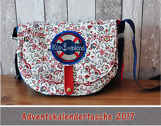 Adventskalendertasche 2017 Strandläufer