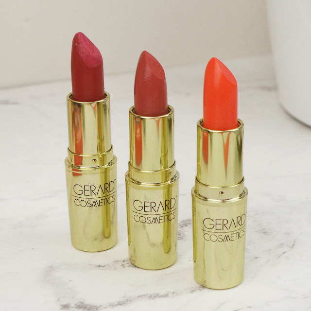 Lovelaughslipstick Blog - Gerard Cosmetics Beauty Haul - Slay All Day and Lipsticks, with Swatches