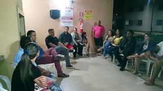 Reunião no Condominio 36
