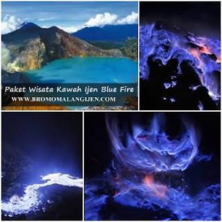 Paket Wisata Kawah Ijen Blue Fire 2 Hari 1 Malam