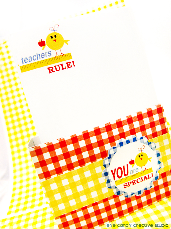 teacher appreciation stationery, teachers rule paper, teacher gift idea