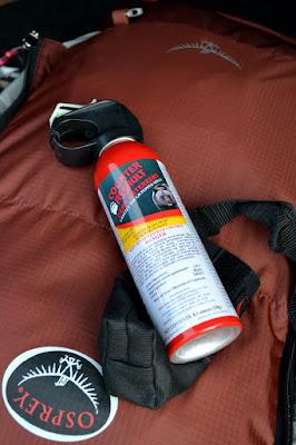 аєрозоль від відмедів (bear spray)