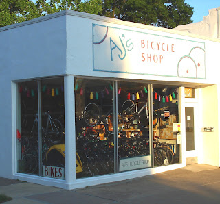 AJ's Bike Shop, Bicycling and the Local Bike Shop, Fairfield, Iowa