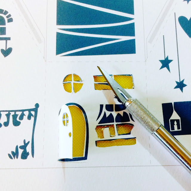 Papercutting for the first time with an Embellish Box