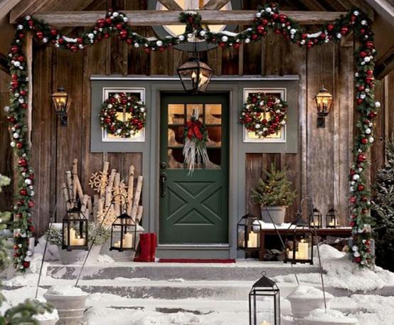 Case Di Montagna A Natale : Natale in montagna dettagli home decor