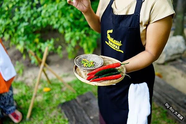 曼谷烹飪學校 Bangkok Baipai Thai Cooking School 辣椒 chile
