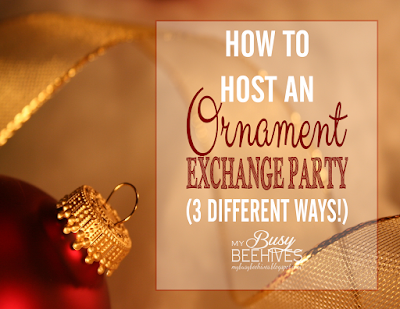 Ornament Exchange Party instructions