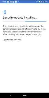 January Android security patch for Pixel