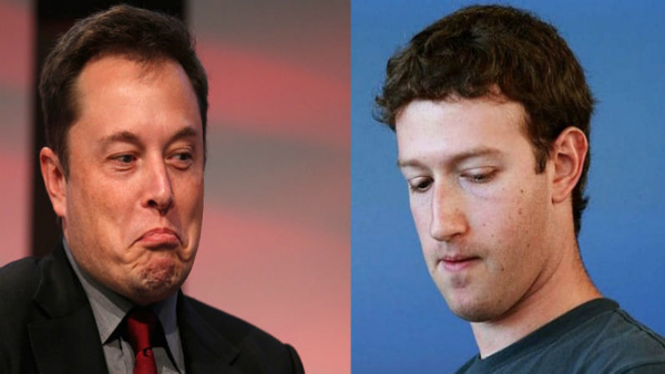 """إيلون ماسك يحذف صفحتي """"تيسلا"""" و""""سبيس إكس"""" على فيسبوك ومارك يعتذر للمستخدمين عبر إعلانات في الصحف!"""
