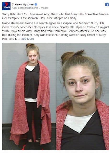 Fugitiva le dice a la policía que usen una mejor foto de ella
