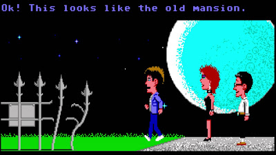 Fondo de escritorio - Maniac Mansion