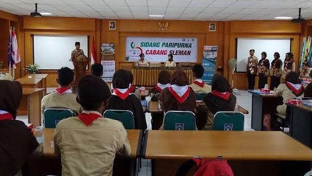 Sidang Paripurna Cabang Sleman 2018