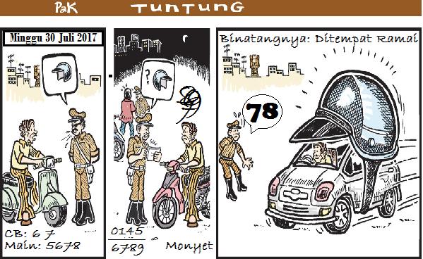 Prediksi Gambar Pak Tuntung Minggu 30 07 2017
